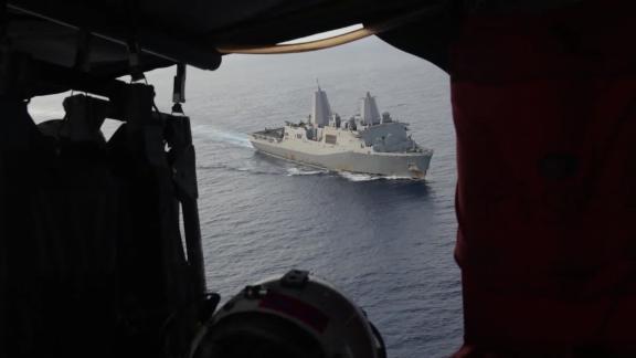 US navy patrols South China Sea