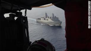Rare footage shows US patrol of South China Sea