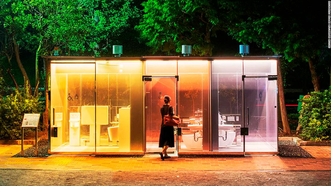 Tokyo's latest attraction: Transparent public toilets