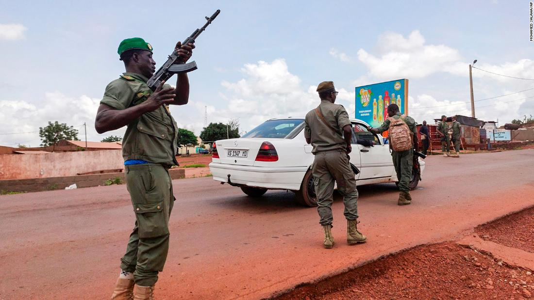 Mali president detained by troops per African Union official – CNN