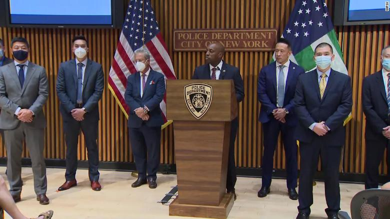 The New York City Police Department held a press conference on August 18 announcing the formation of an Asian Hate Crime Task force.