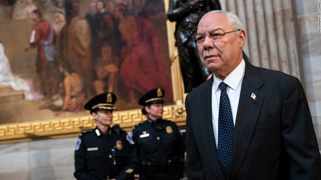 CNN's Wolf Blitzer reflects on the passing of General Colin Powell