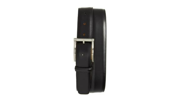Magnanni Carbon Leather Belt
