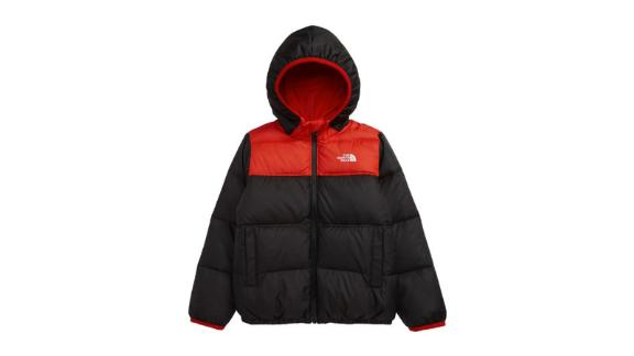 The North Face Moondoggy Water-Repellent Reversible Down Jacket