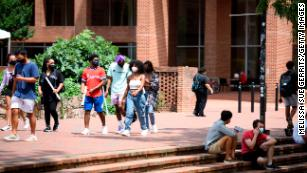 The psychology behind why some college students break Covid-19 rules