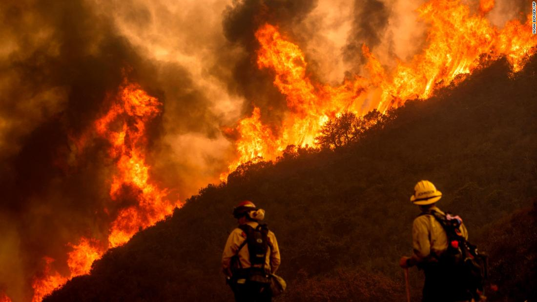 Live updates: California fires spread across the state