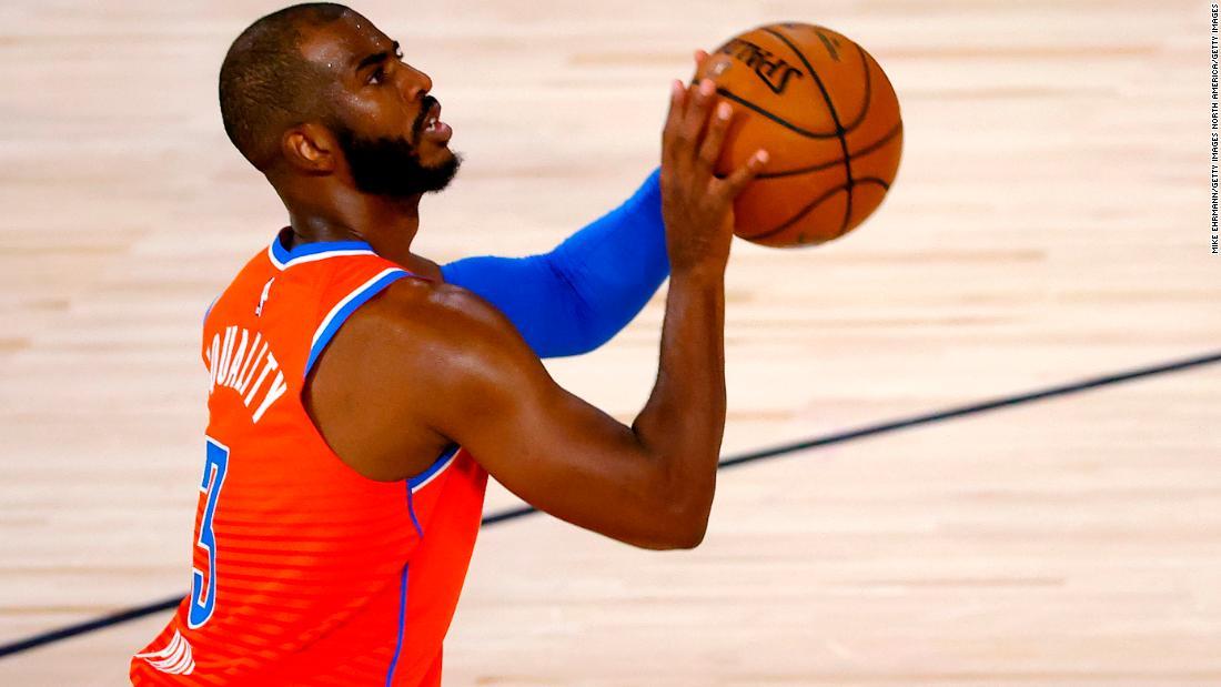 Chris Paul to join Phoenix Suns from Oklahoma City Thunder