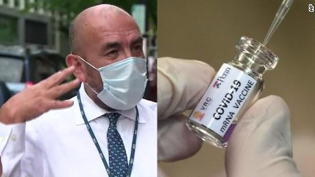 CNN en Español's Dr. Elmer Huerta volunteered for a coronavirus vaccine trial. Here's why