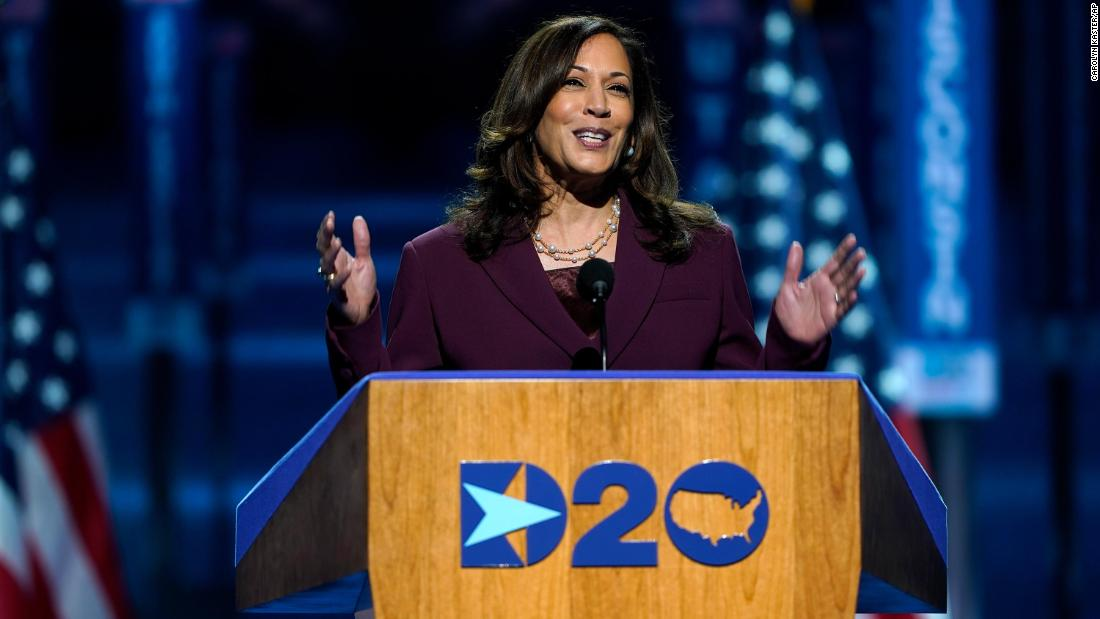 Kamala Harris defines her role: A prosecutor who will take the fight to Trump
