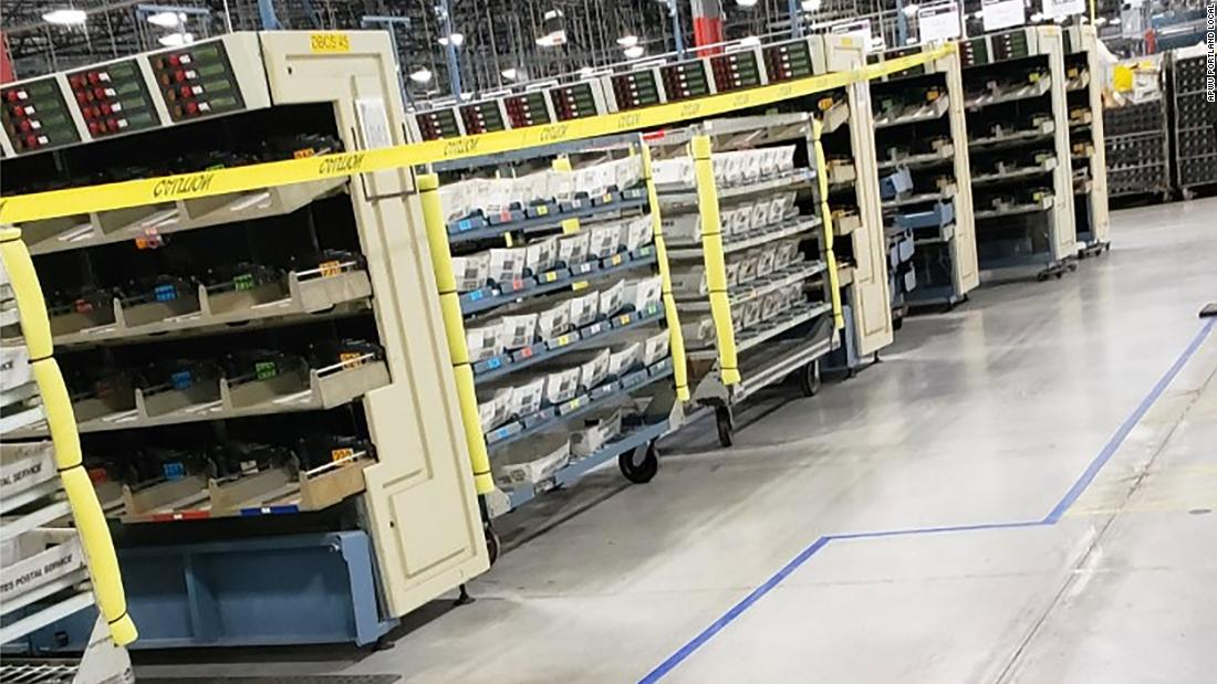 Usps Removed 711 Sorting Machines This