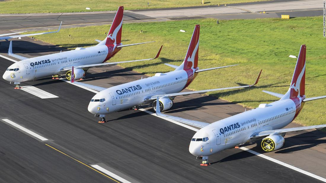 Australia S Qantas Says International Flights Unlikely To Resume Before July 2021 As Company Posts 91 Drop In Profit Cnn