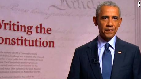 Obama: Our president should be custodian of this Democracy
