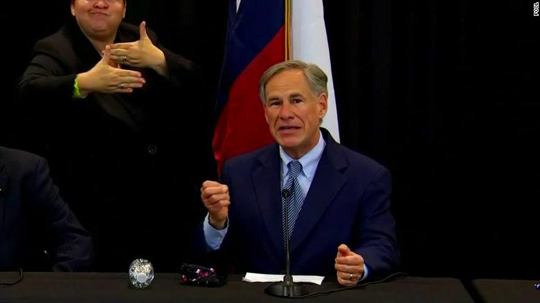 Texas Gov. Greg Abbott warned cities that defund their police departments that the state will freeze their property taxes, a move meant to deter cities from shrinking police budgets.