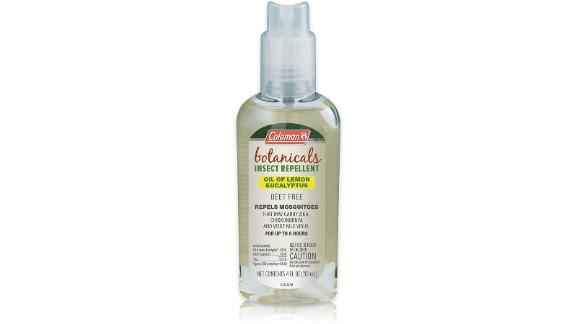 Coleman Naturally Based DEET-Free Lemon Eucalyptus Insect Repellent