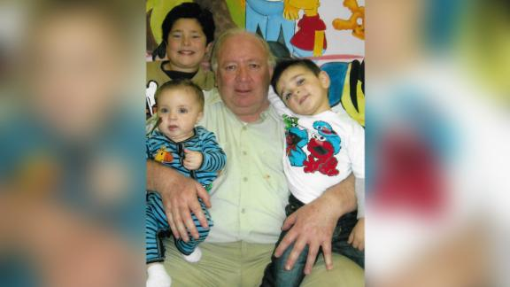 Juan Carlos Seresi with his grandkids.