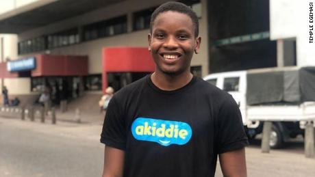 Dominic Onyekachi is using the web-based platform Akiddie to feature and share stories with African characters for children.