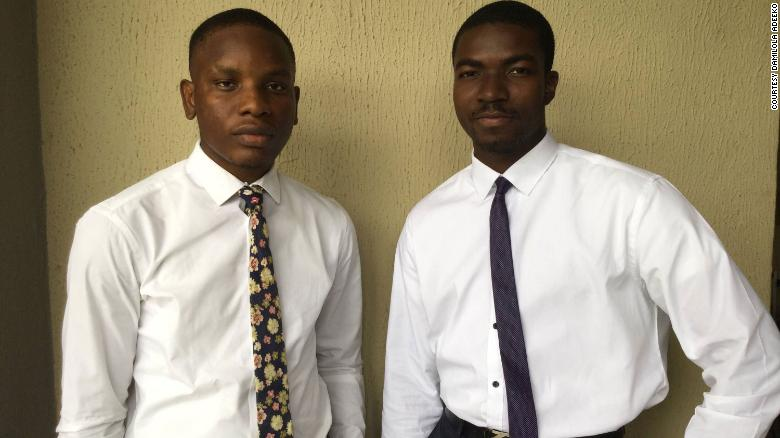 Dominic Onyekachi (L) teamed up with Tolulope Wojuola (R) and Fanan Dala (not pictured) to kick off Akiddie