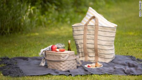 Picnic baskets are in demand as outdoor eating becomes popular in the pandemic.
