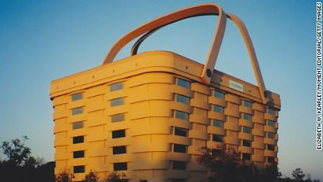The Longaberger Company's corporate office was once housed in a building in Newark, Ohio that's shaped like an actual picnic basket.