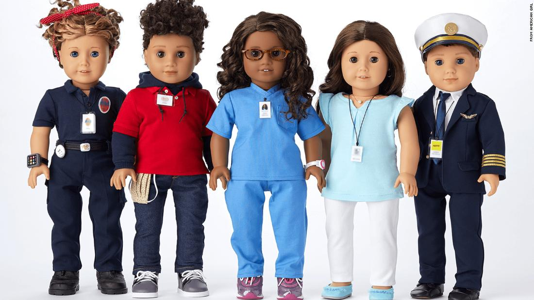 American Girl Honors Pandemic Heroes By Turning Them Into One Of A Kind Dolls Cnn