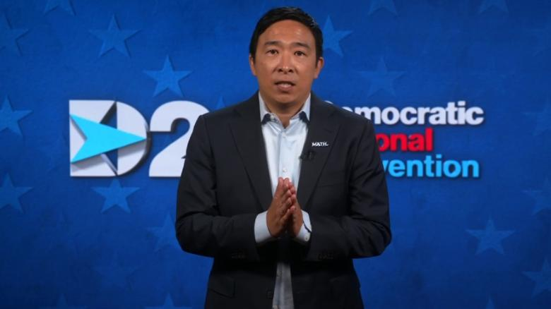 Andrew Yang announces candidacy for New York mayor