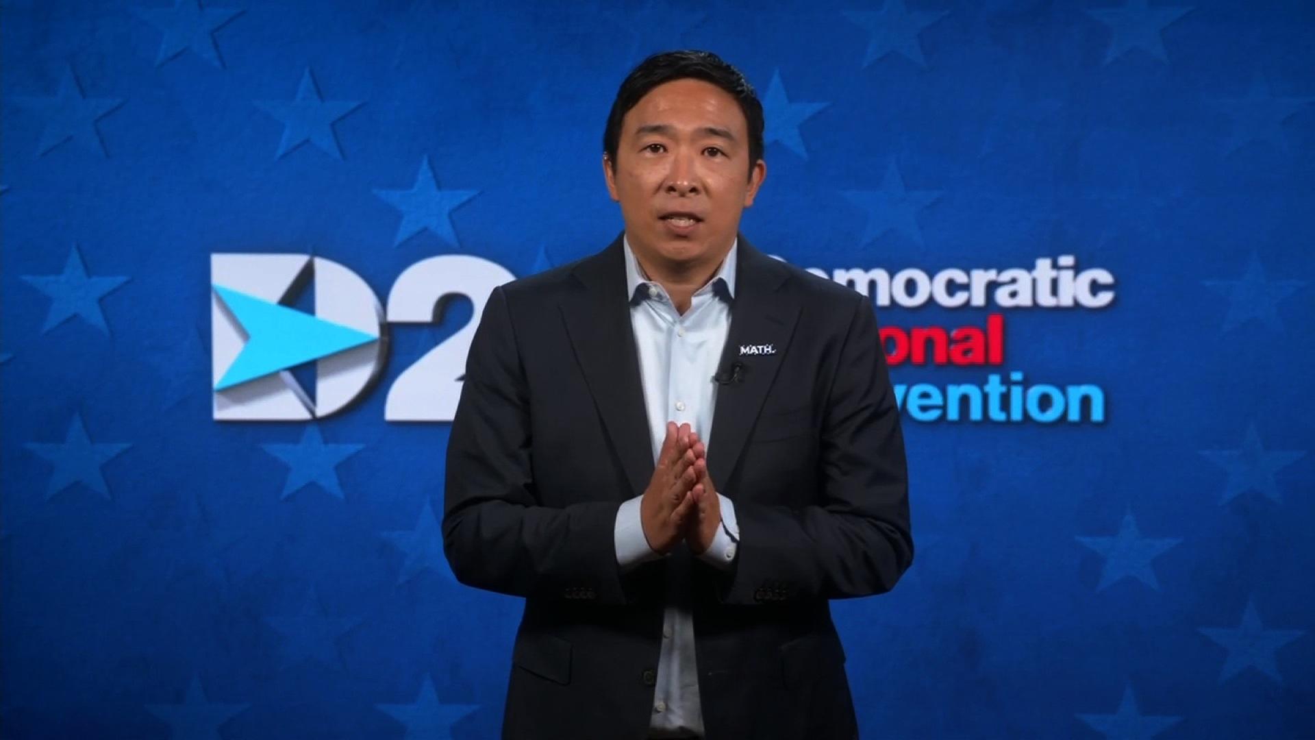 Andrew Yang S Dnc Speech Full Video Cnn Video