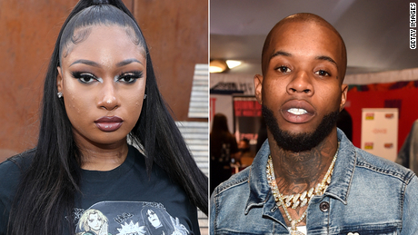 Megan Thee Stallion says Tory Lanez shot her