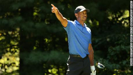 Tiger Woods was playing his ninth round since the PGA Tour resumed at The Northern Trust.
