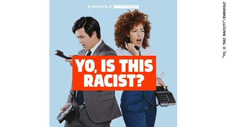 "Andrew Ti and Tawny Newsome co-host the podcast ""Yo, Is This Racist?"" from Earwolf."