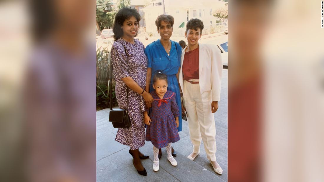 Meena Harris: Kamala Harris was raised to believe if you see injustice do something – CNN