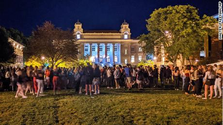 Syracuse University suspends 23 students after 'incredibly reckless' gathering