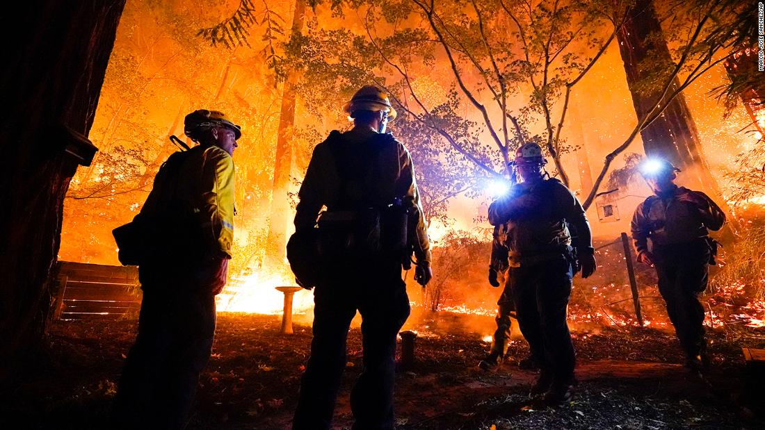 Nearly 1 million acres are burning due to wildfires across California official says – CNN