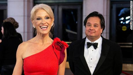 Kellyanne Conway announces she's leaving the White House and George Conway is stepping away from Lincoln Project