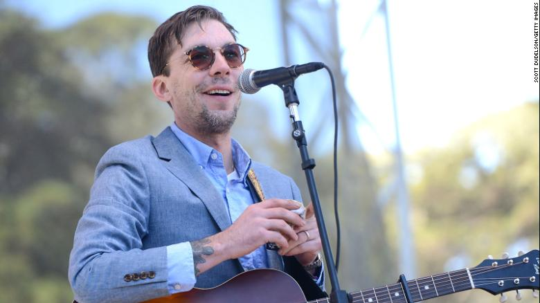 Singer Justin Townes Earle performs onstage during the Hardly Strictly Bluegrass music festival at Golden Gate Park on October 7, 2017, in San Francisco, California.
