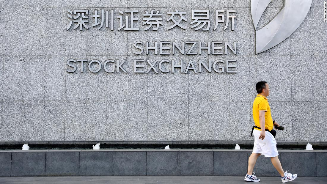18 Chinese tech stocks soar 200% as a major market relaxes its IPO rules