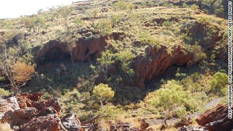 Les gorges de Juukan en Australie occidentale.