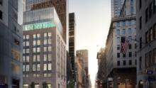 A rendering of Tiffany & Co.'s remodeled flagship location in New York.