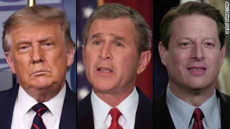 Trump revives Bush against Gore in his crusade against mail-in votes
