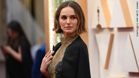 US-Israeli actress Natalie Portman arrives for the 92nd Oscars at the Dolby Theatre in Hollywood, California on February 9, 2020.