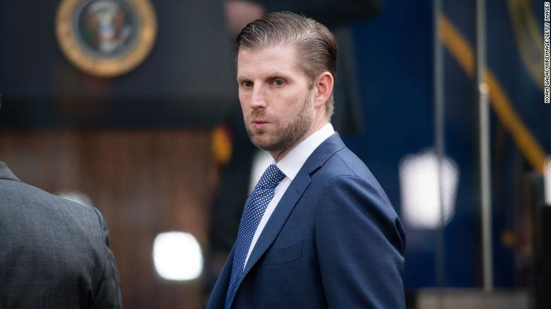Eric Trump to be called by NY AG