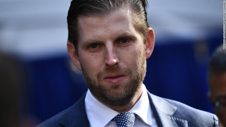 Eric Trump says he's willing to be interviewed by the New York AG's office but not until after election