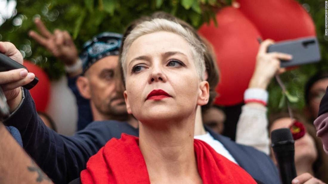 Belarus activists describe dramatic alleged abduction and last sighting of Maria Kolesnikova – CNN