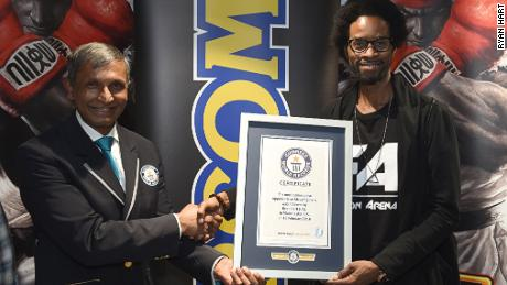 In 2016, Hart set a Guinness world record for beating 260 people in a row at Street Fighter V during an 11-hour session with no breaks.