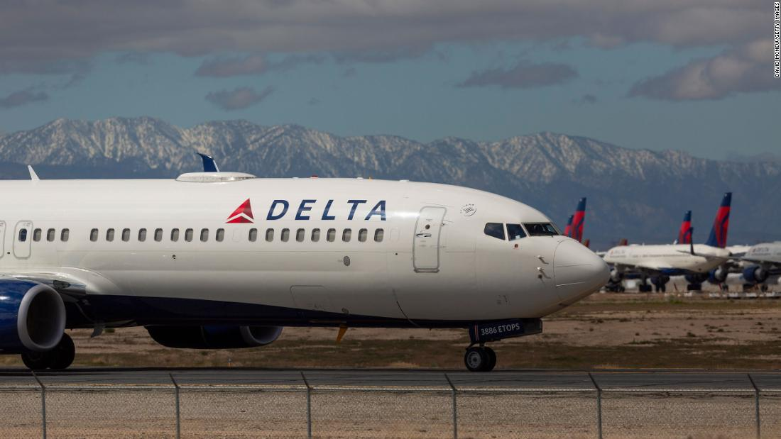 Delta Air Lines to furlough nearly 2000 pilots in October – CNN