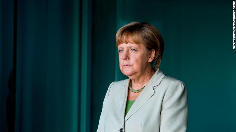 Angela Merkel has been enjoying high approval ratings.