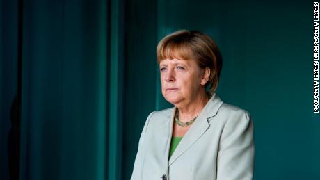 Angela Merkel a bénéficié de cotes d'approbation élevées.
