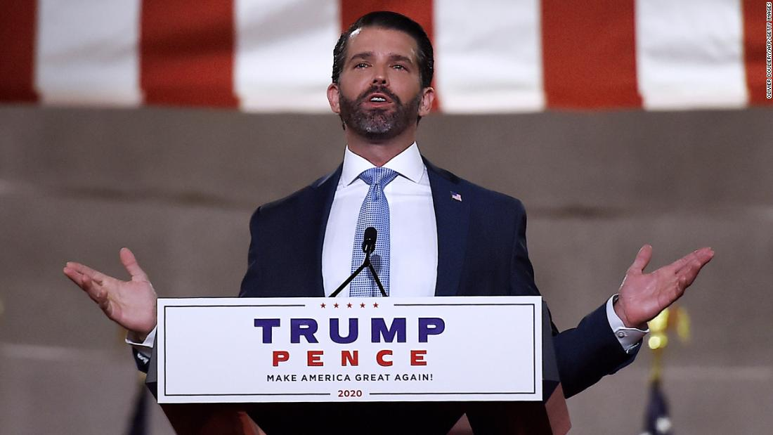 Donald Trump Jr. put a perfect exclamation point on his father's bungling of Covid-19