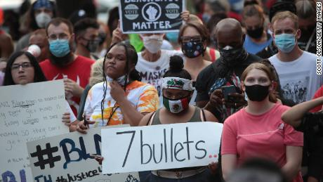 Kenosha unrest tests political potency of Trump's 'law and order' convention message