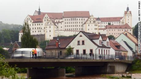 Colditz Castle in Germany in 2013