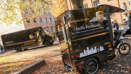 UPS is testing cargo bike delivery in Portland.